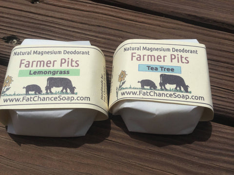 Improved Recipe! Natural Deodorant Bar - Farmer Pits