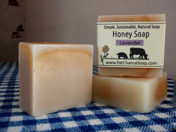 Honey and Lavender Soap