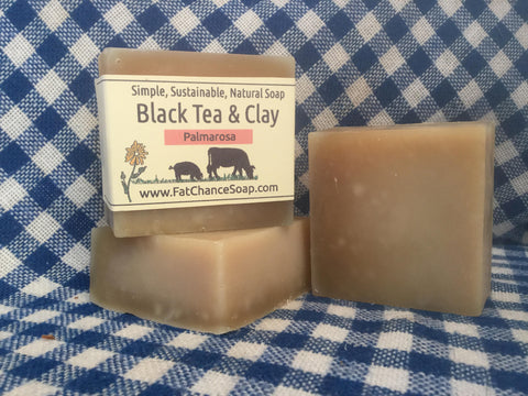Black Tea and Clay Soap