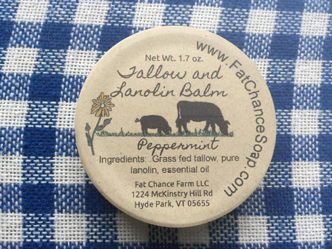 Tallow and Lanolin Balm - 1.7 oz.