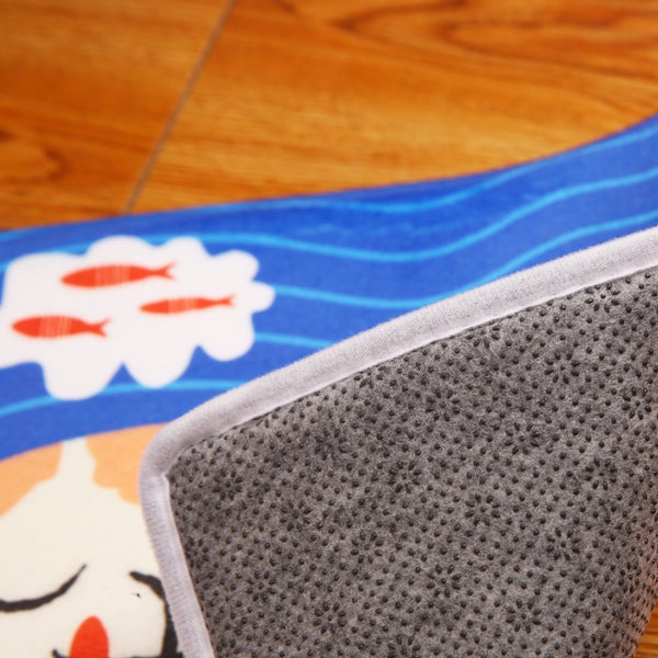 "Tapis de bain ""Sweet as a Peach"""