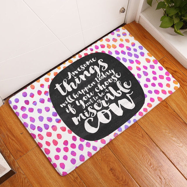 "Tapis de bain ""Motivation"""