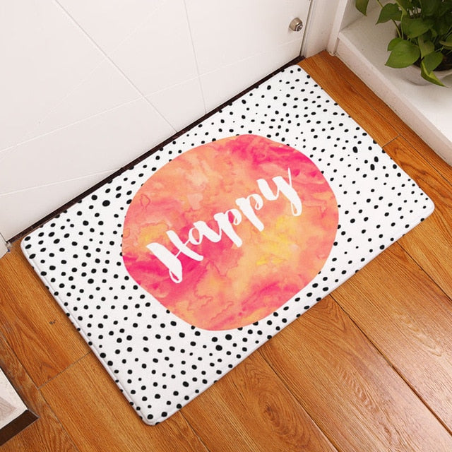 "Tapis de bain ""Happyness"""