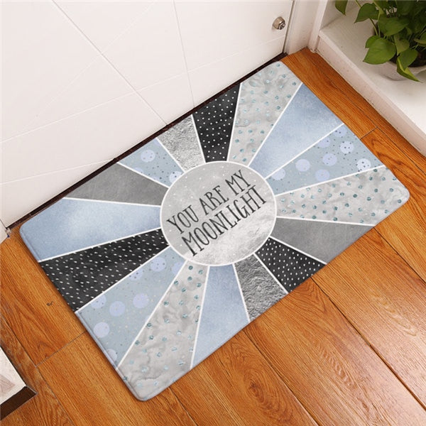 "Tapis de bain ""You are my moonlight"""