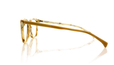 AM Eyewear Curie O1 IV Ivory Glasses at OCO