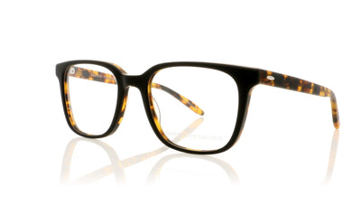 Barton Perreira Joe MBT Matte Black Amber Tortoise Glasses