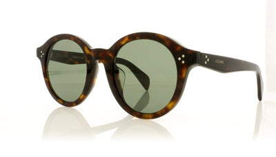Céline CL40034F 52N Dark Havana Sunglasses