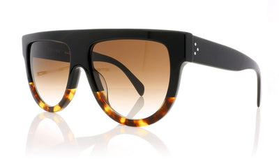 Céline Shadow CL41026/S FU5 Black Sunglasses at OCO