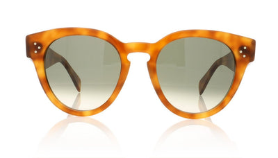 Céline Thin Preppy CL41049/S TEN Light Havana Sunglasses at OCO