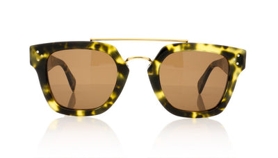 Céline CL41077/S PHW Hav Green Sunglasses