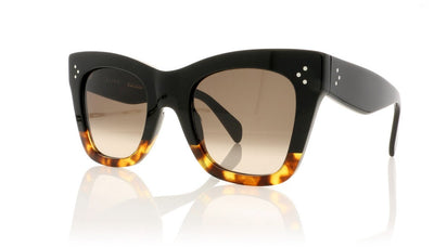 Céline Catherine CL41090/S FU5 Black Sunglasses at OCO