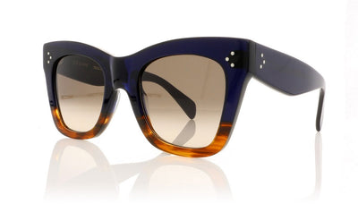 Céline Catherine CL41090/S QLT Blue Sunglasses
