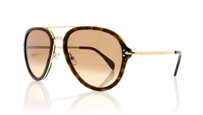 Céline Drop CL41374/S ANT Dark Havana Sunglasses at OCO