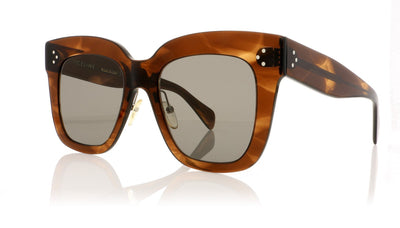 Céline Kim CL41444/S 07B Havana Sunglasses at OCO