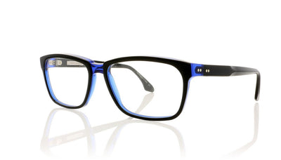 Claire Goldsmith Curtis 4 Black Indigo Glasses at OCO
