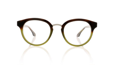 Claire Goldsmith Rixon 4 Tortoise Green Glasses