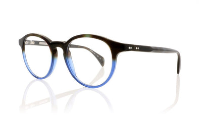 Claire Goldsmith Robinson 2 Tortoise Blue Glasses