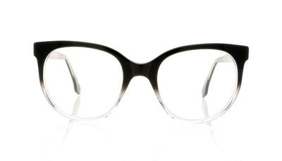 Claire Goldsmith Rousseau 5 Black Top Hat Glasses