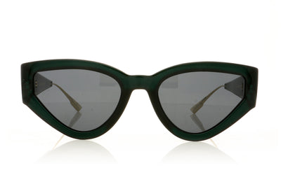 Dior CatStyleDior1 1ED Green Sunglasses at OCO