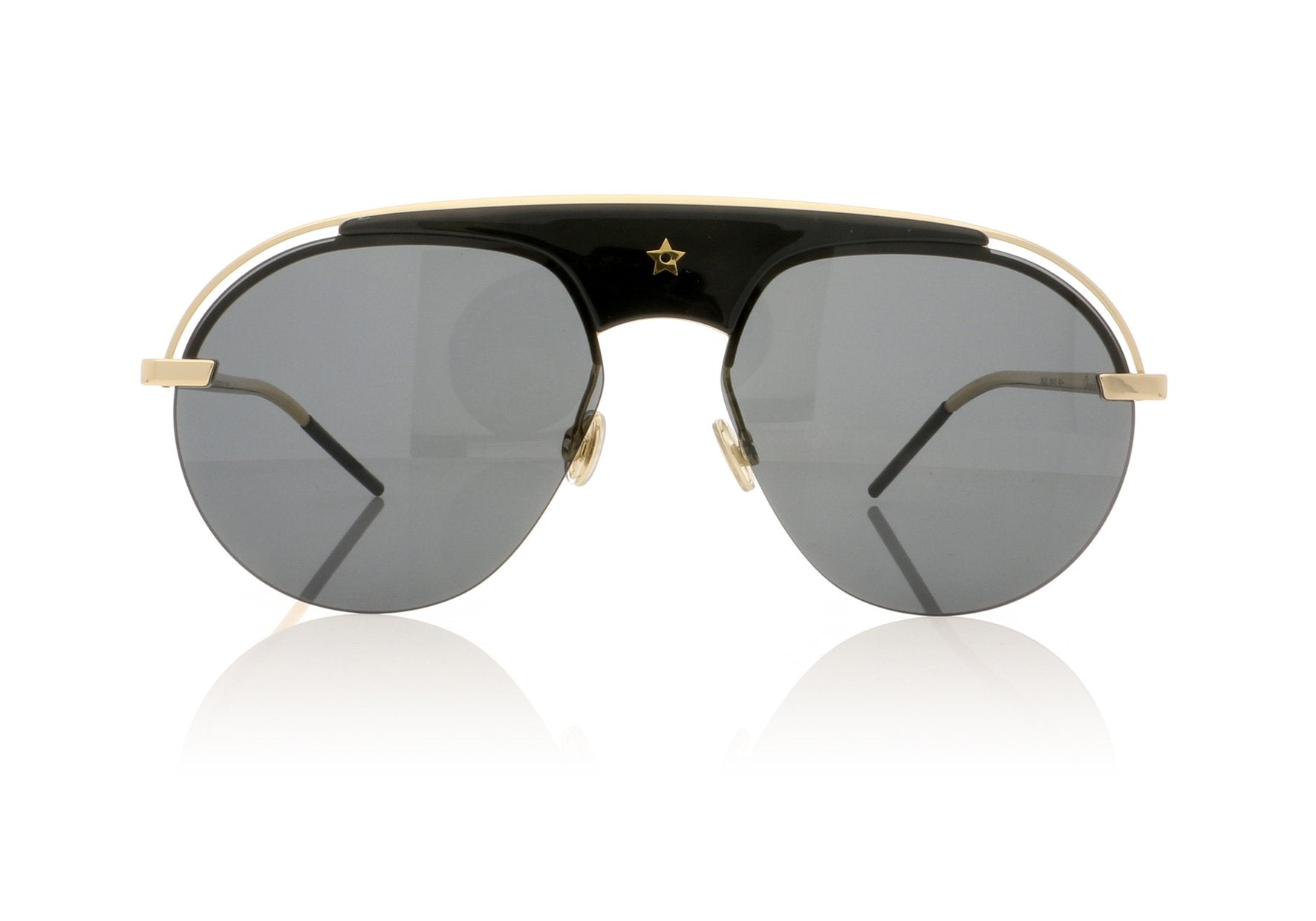 79e09ec3843 Dior DIO(R)EVOLUTION 2M22K Black Gold Sunglasses