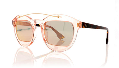 Dior Mania1 Diormania1 N71 Havana Rose Sunglasses at OCO