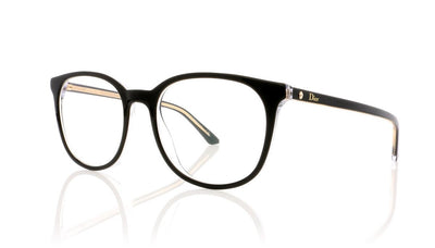 Dior Montaigne 34 Montaigne34 TKX Black Glasses