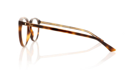 Dior Montaigne 39 C9C Havana Glasses at OCO