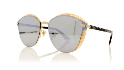 Dior Murmure 278 Gold Sunglasses