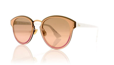 Dior NIGHTFALL 24S Gold White Sunglasses