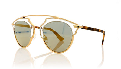 Dior SoReal YN1 Gold Sunglasses