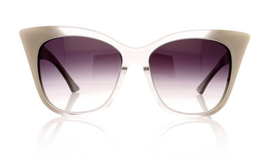 DITA Magnifique 22015 E Gry Crystl To Cream Sunglasses