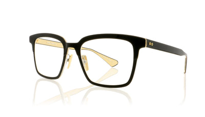 DITA Polymath DTX101 01 Black - Crystal Clear Back Glasses