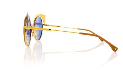 Fendi FF0177/S 1 Yellow Gold Sunglasses
