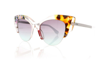 Fendi FF0178/S TKU Pink Pattern Sunglasses