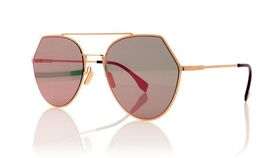 Fendi FF0194/S DDB Gold Copper Sunglasses at OCO