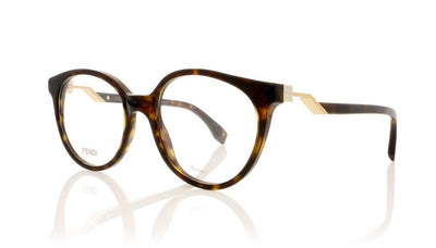 Fendi FF0202 086 Dark Havana Glasses