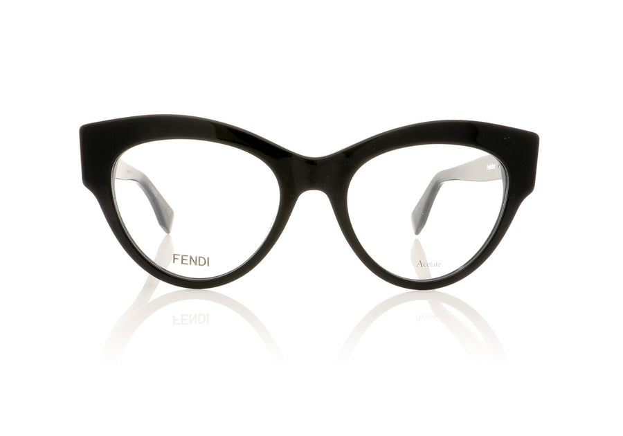 47211343125d Fendi FF0273 807 Black Glasses at OCO