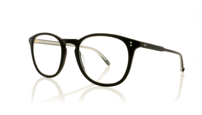 Garrett Leight Kinney 1007 MBK Matte Black Glasses at OCO