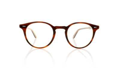Garrett Leight Clune 1047 WHT Whiskey Tortoise Glasses