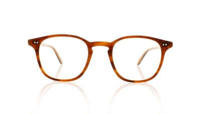 Garrett Leight Clark 1049 MBTL Matte Brown Tortoise Laminate Glasses at OCO