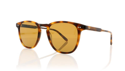 Garrett Leight Brooks 2002 CSBRN/SPFCOF Classic Brown Tortoise Sunglasses at OCO