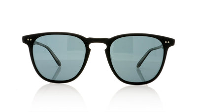 Garrett Leight Brooks 2002 MBK/BS PLR Matte Black Sunglasses at OCO