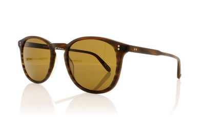 Garrett Leight Kinney 2007 MBT/B PLR Matte Brandy Tortoise Sunglasses at OCO