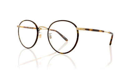 Garrett Leight Wilson 3003 BBT-MST Bourbon Tortoise Glasses at OCO
