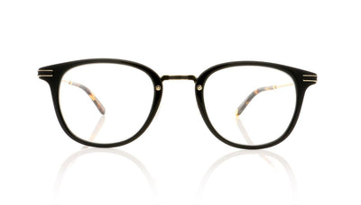 Garrett Leight Kinney Combo 3018 BK-DKT Black Glasses at OCO