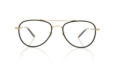 Garrett Leight Linnie 3020 MBK-G Matte Black Glasses at OCO