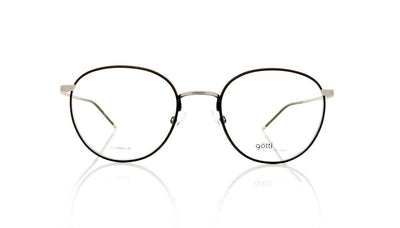 Götti Abou SB-BLKM Silver Brushed Glasses