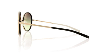 Götti Pinou GLBB Gold Brushed Black Ring Sunglasses