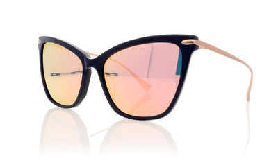 Hadid Eyewear Jetsetter HAD06 C2 Navy Sunglasses
