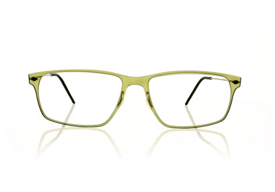Lindberg n.o.w titanium 6507 PU9 Green Transparent Glasses
